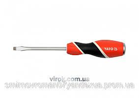Отвертка плоская ударная YATO SL6 x 100 мм