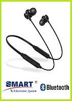 Беспроводные блютуз наушники. Bluetooth Smart S12. С картой памяти