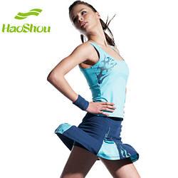 Женский костюм для бадминтона и тенниса