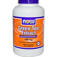 Экстракт зеленого чая, Now Foods, 400 мг, 250 капсул