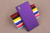 Чехол накладка бампер для Lenovo P70-A фиолетовый