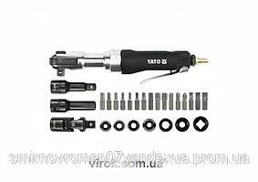 """Ключ - тріщатка YATO пневматичний до 1/2"""", F= 68 Nm з обладунками, 30 шт. [4]"""