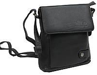 Небольшая кожаная сумка-барсетка Always Wild 012NDM черная 79e6b3a6b610c
