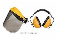 Наушники VOREL противошумные для защиты с сетчатой маской