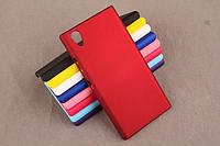 Чехол накладка бампер для Lenovo P70-A бордовый, фото 1