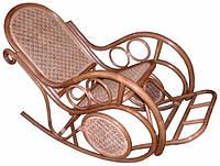 """Кресло-качалка  """"Венеция"""" из натурального ротанга, фото 1"""