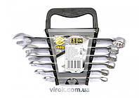 Набор ключей рожково-накидных VOREL М8-17 мм 6 шт