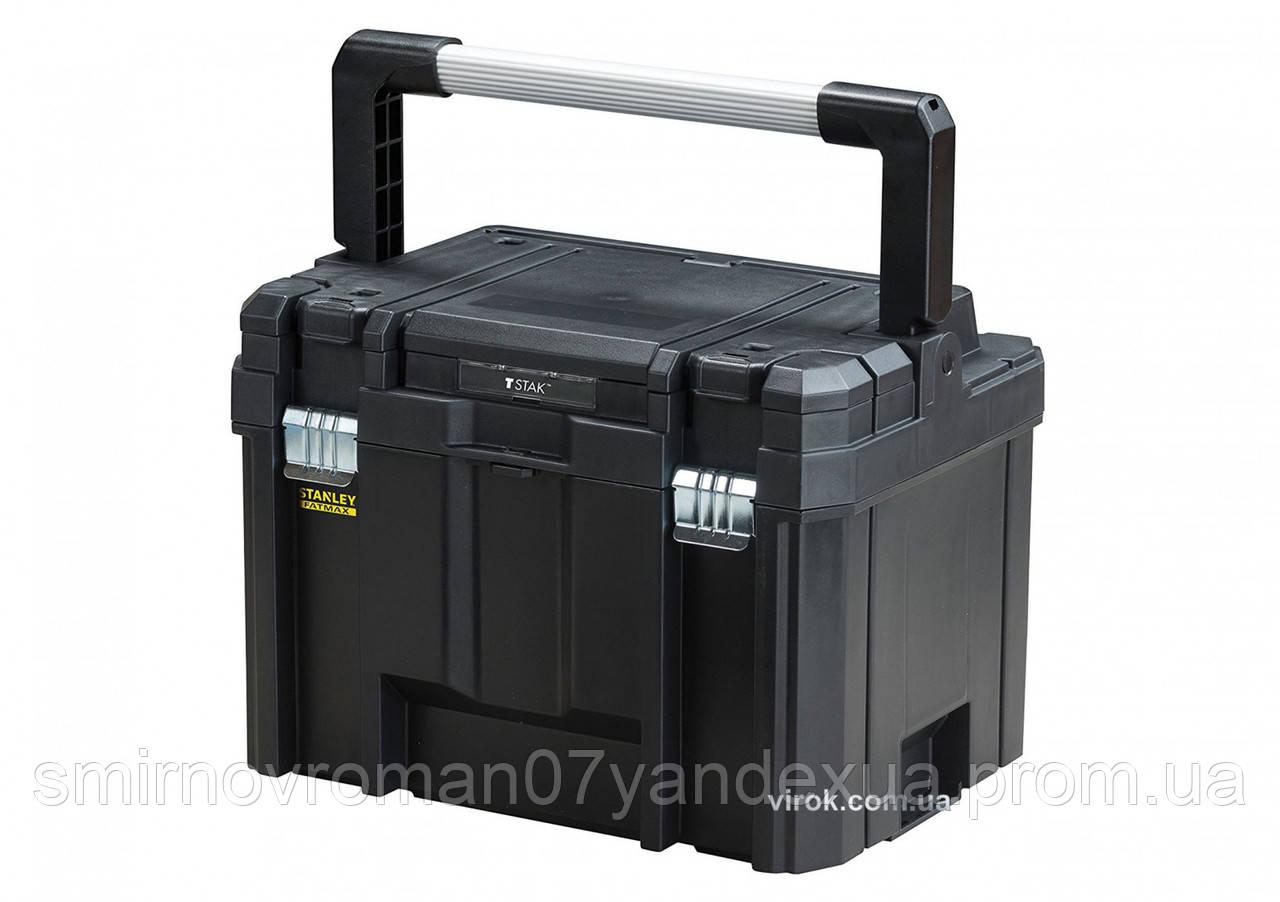 """Ящик для інструменту глибокий STANLEY """"FatMax"""" TSTAK COMBO II + IV 44 х 34 х 32 см"""