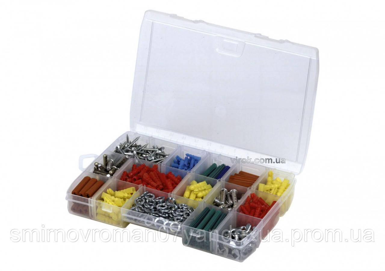 Органайзер STANLEY пластмасовий для дрібних деталей, 17 відділень, 27х4,6х19 см