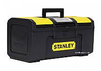 """Ящик для інструменту 16"""" пластмасовий """"Stanley Line Toolbox""""; 39,4 x 22 x 16,2 см"""