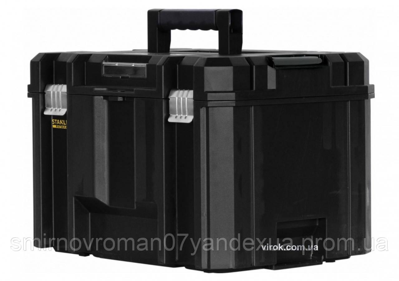 """Ящик для інструменту пластиковий STANLEY """"FatMax"""" TSTAK 310 х 247 мм, з 2-ма відділеннями"""