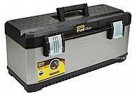 """Ящик для інструменту метало-пластиковий STANLEY """"FatMax"""" TSTAK VI; 440х 330х 326 мм"""