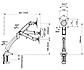 Кронштейн настінний F100S, фото 2