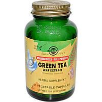 Экстракт зеленого чая, Solgar, 400 мг, 50 капсул
