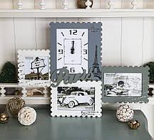 Фотоколлаж с часами - Paris Гранд Презент GM81-3556