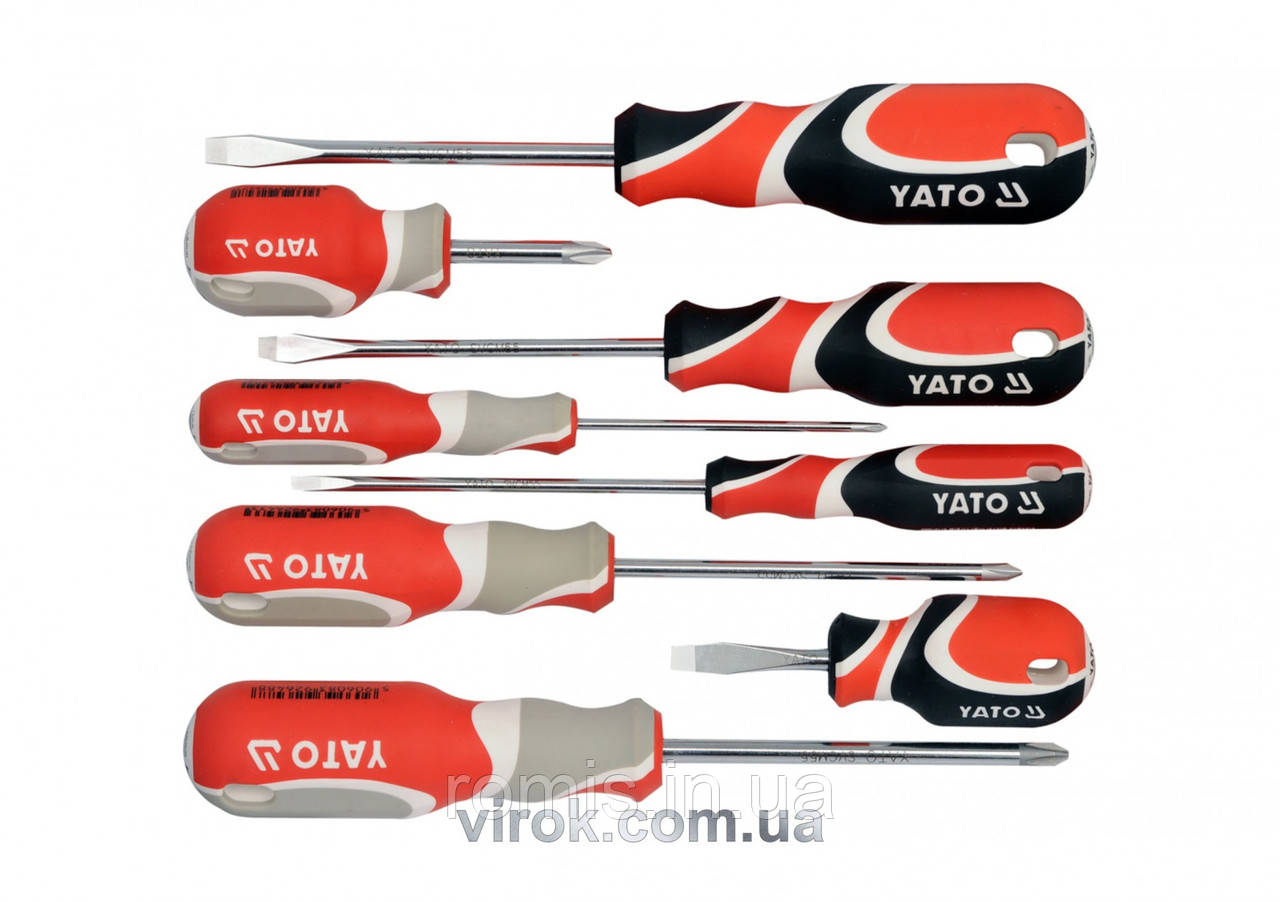 Набір викруток YATO 8 предметів