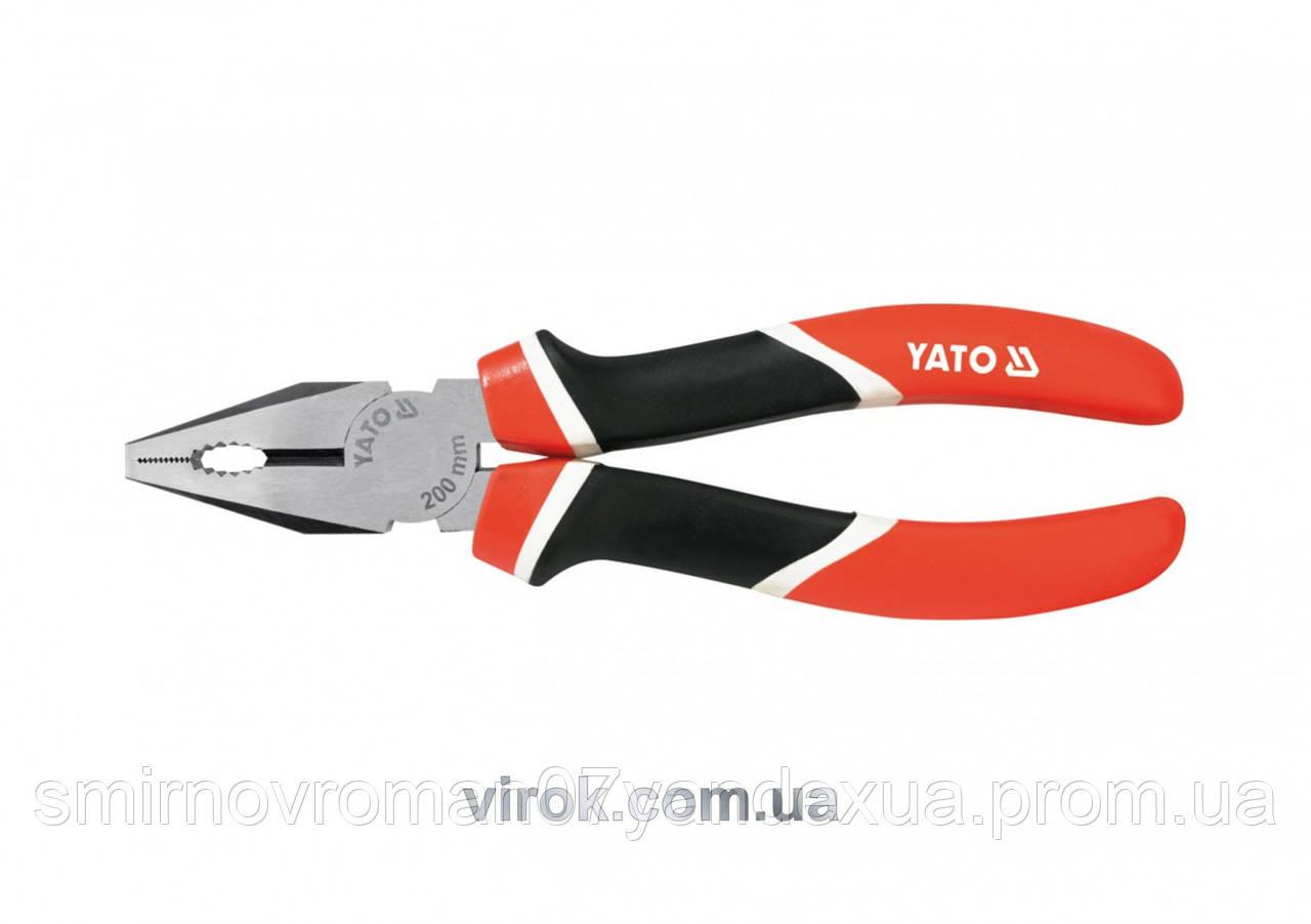 Плоскогубцы комбинированные YATO l=160 мм