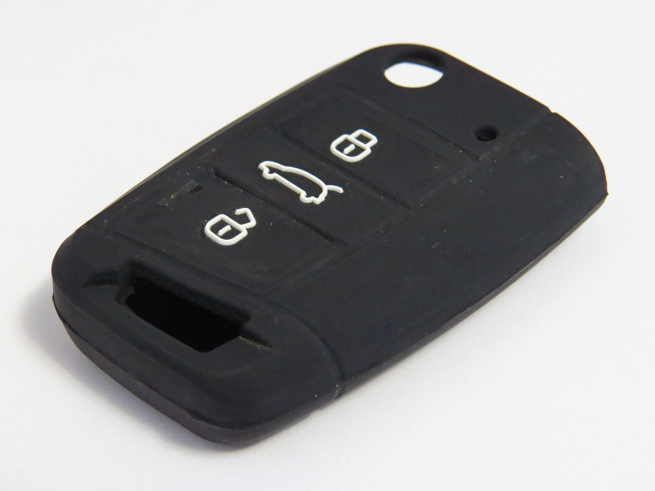 Чехол силиконовый для ключа зажигания Volkswagen V2 Фольксваген