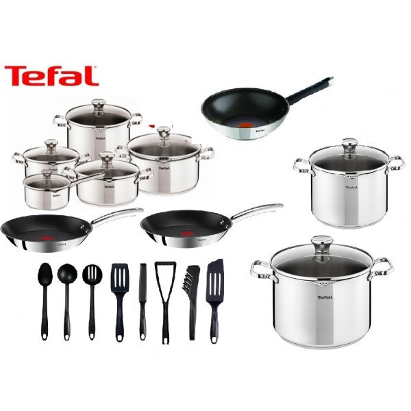 Набор посуды TEFAL DUETTO OLIVER 25 шт