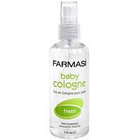 Детская ароматизировання вода освежающая Farmasi Baby Cologne Fresh