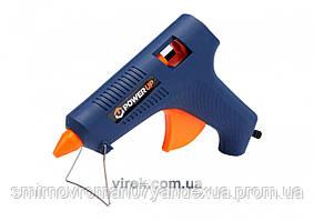Пістолет термоклейовий VOREL електр. 80Вт 11мм /Power up/