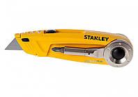 Нож 4 в 1 STANLEY ножовка, отверточный держатель, двусторонняя насадка 150 мм