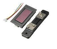 Цифровой амперметр постоянного тока на микроконтроллере электронный встраиваемый 50А c шунтом