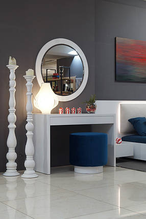 Дамский стол Silver глянец, фото 2