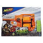 Бластер Нерф Зомби страйк Переворот A9603 Nerf Zombie Strike Flipfury Blaster, фото 2