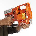 Бластер Нерф Зомби страйк Переворот A9603 Nerf Zombie Strike Flipfury Blaster, фото 3