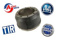 Тормозной барабан полуприцепа (SAF, BPW, 420мм)