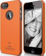 Чехол Elago iPhone 5 - Slim Fit Soft (orange)