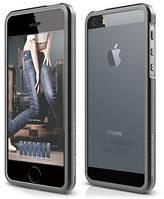 Чехол Elago iPhone 5/5S - Aluminium Bumper (Dark Gray)