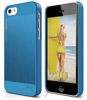 Чехол Elago iPhone 5C - Outfit MATRIX Aluminum Case (Blue)