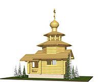 Проекты церквей из бруса