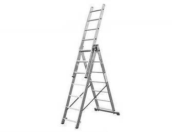 Лестница алюминий 3х8 HIGHER 480 см
