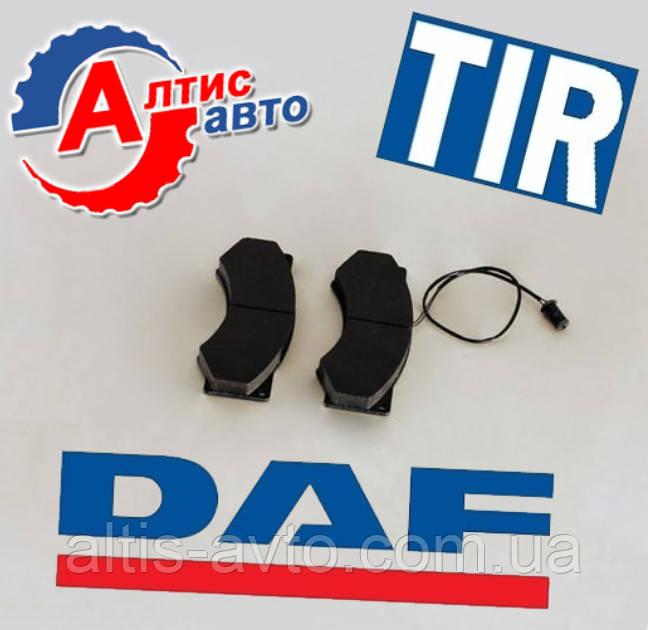 Тормозные колодки DAF 45, 55 (передние) bbu8177 система Wabco, WVA: 29017 29024