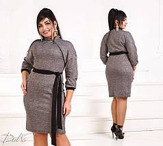 Интересное платье декорированное молнией