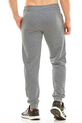 Мужские спортивные штаны 403 темно-серый, фото 2