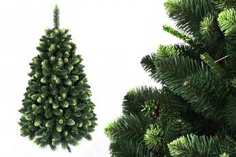"""Сосна """"Сибирская зеленая"""" на пластиковой подставке + гирлянда в подарок 220 см + гирлянда в подарок"""