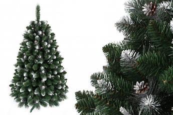 """Сосна """"Сибирская"""" на пластиковой подставке + гирлянда в подарок 250 см + гирлянда в подарок"""