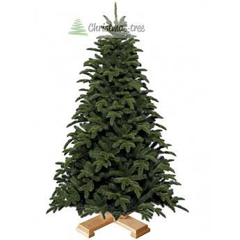 """Елка """"Naturelli"""" на деревянной подставке 155 + гирлянда в подарок"""