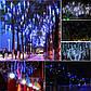 """Новогодняя гирлянда """"Сосулька"""" 144 LED, IP44, 30 CM, фото 4"""