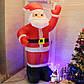 Надувной Дед Мороз Высота 1,8 м, фото 5