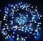 Новогодняя гирлянда 1000 LED, Длина 67m, Белый теплый свет,Кабель 2,2 мм, фото 4