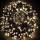 Новогодняя гирлянда 1000 LED, Длина 67m, Белый холодный свет,Кабель 2,2 мм, фото 5