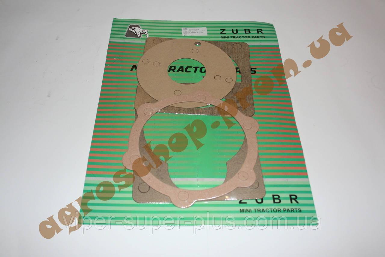 Комплект прокладок редуктора на мотоблок с двигателем 178F/186F