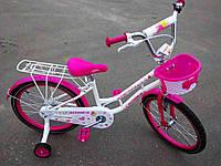 """Детский двухколесный  велосипед для девочки  CROSSER  Mermeid 16"""" дюймов кроссер мармаид"""