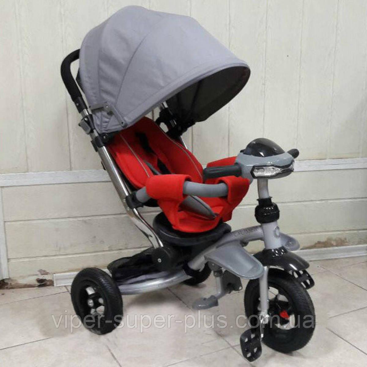 """Дитячий триколісний велосипед T - 350 Crosser AIR (накачка) T -350 """"CROSSER"""" AIR"""