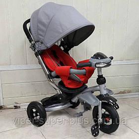 """Детский трехколесный велосипед T- 350 Crosser  AIR (накачка)  T -350  """"CROSSER"""" AIR"""